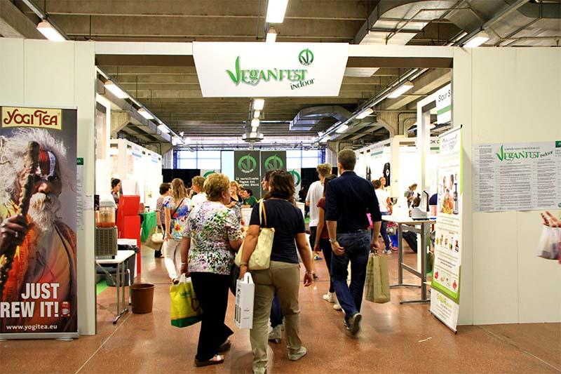 Entrata del VeganFest 2014