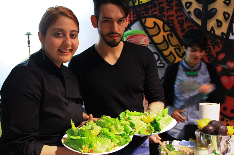 Chef Lorena e partecipante